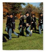 Civil Soldiers March Fleece Blanket