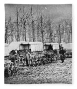 Civil War: Ambulances, C1864 Fleece Blanket