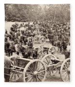 Civil War: Artillery, 1862 Fleece Blanket
