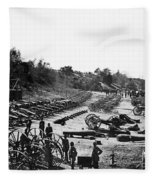 Civil War: Artillery Fleece Blanket