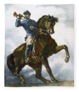 Civil War: Bugler, 1863 Fleece Blanket