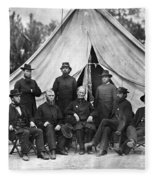 Civil War: Chaplains, 1864 Fleece Blanket