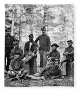 Civil War: Engineers Fleece Blanket