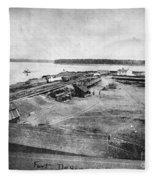 Civil War: Fort Defiance Fleece Blanket