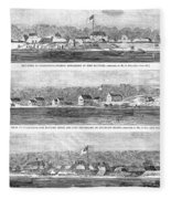 Civil War: Fort Moultrie Fleece Blanket