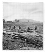 Civil War: Graves, 1862 Fleece Blanket