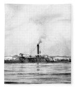 Civil War: Mobile Bay, 1864 Fleece Blanket