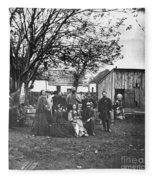 Civil War: Nurses & Officers Fleece Blanket