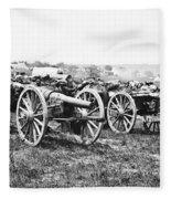 Civil War: Parrott Guns Fleece Blanket