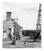 Civil War: Signal Tower Fleece Blanket