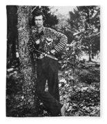 Civil War: Soldier, 1861 Fleece Blanket