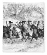 Civil War: Texas Rangers Fleece Blanket