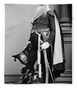 Civil War: Union General Fleece Blanket