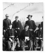 Civil War: Veterans Fleece Blanket