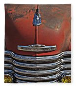 Classic 50s Chevy Fleece Blanket