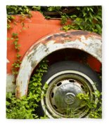 Classic Car Forgotten Fleece Blanket