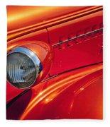 Classic Car Lines Fleece Blanket