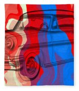 Classic Mercury Abstract Fleece Blanket