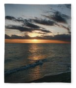 Classic Sunset Fleece Blanket
