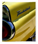 Classic T-bird Tailfin Fleece Blanket