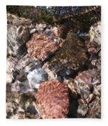 Clear And Pure Fleece Blanket