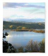 Clear Lake California 2 Fleece Blanket
