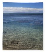 Clear Water And Coral Fleece Blanket