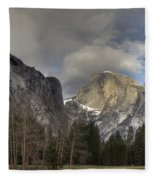 Clearing At Half Dome Fleece Blanket