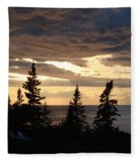 Clearing Sky Fleece Blanket