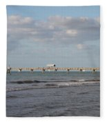 Clearwater Pier 69 Fleece Blanket