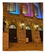 Cleveland Court House Fleece Blanket