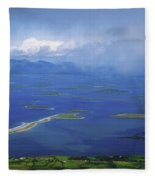 Clew Bay, Co Mayo, Ireland View Of A Fleece Blanket