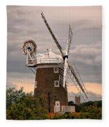 Cley Windmill Fleece Blanket