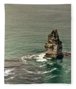 Cliff Of Moher 17 Fleece Blanket