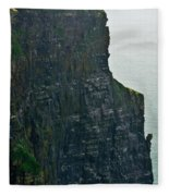 Cliff Of Moher 19 Fleece Blanket
