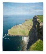 Cliff Of Moher 30 Fleece Blanket