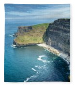Cliff Of Moher 32 Fleece Blanket