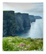 Cliff Of Moher 33 Fleece Blanket