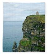 cliffs of Moher 37 Fleece Blanket