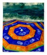 Close To The Ocean Fleece Blanket