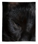 Close-up Of Satin Fleece Blanket