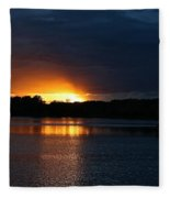 Cloud Color Spectrum Fleece Blanket