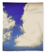 Clouds-10 Fleece Blanket