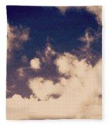 Clouds-2 Fleece Blanket