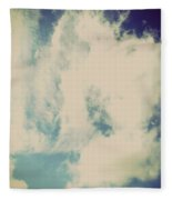 Clouds-5 Fleece Blanket