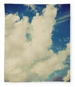 Clouds-7 Fleece Blanket