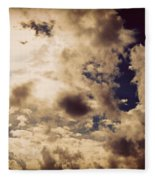 Clouds-8 Fleece Blanket