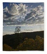 Clouds At Sunset II Fleece Blanket
