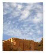 Desert Landscape Fleece Blanket