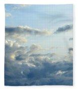 Clouds Of Blue Fleece Blanket